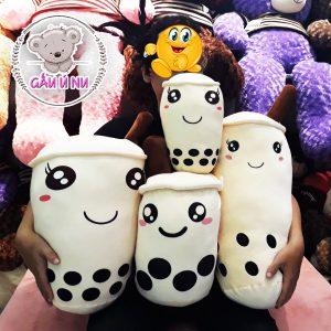 Gia đình trà sữa nhồi bông