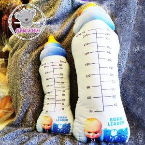 Gối ôm Bình Sữa in 3D Boss & Baby